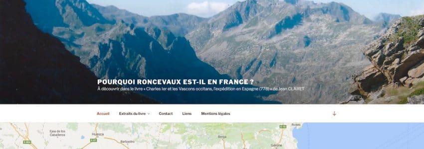 Pourquoi Roncevaux est-il en France ?