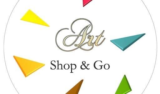 ART: Shop and GO, logo de la galerie d'art en ligne
