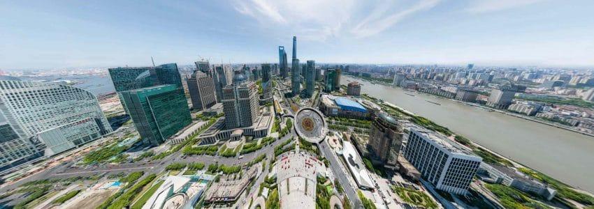 Photo de 195 milliards de pixels de Shanghai réalisée par BIG PIXEL