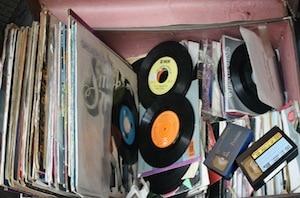 Disques et cassettes audio
