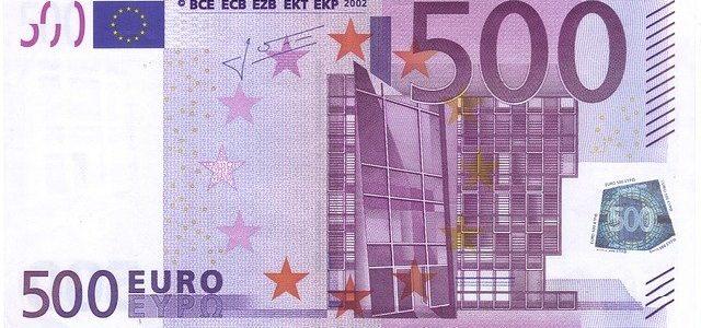Billet de 500 euro