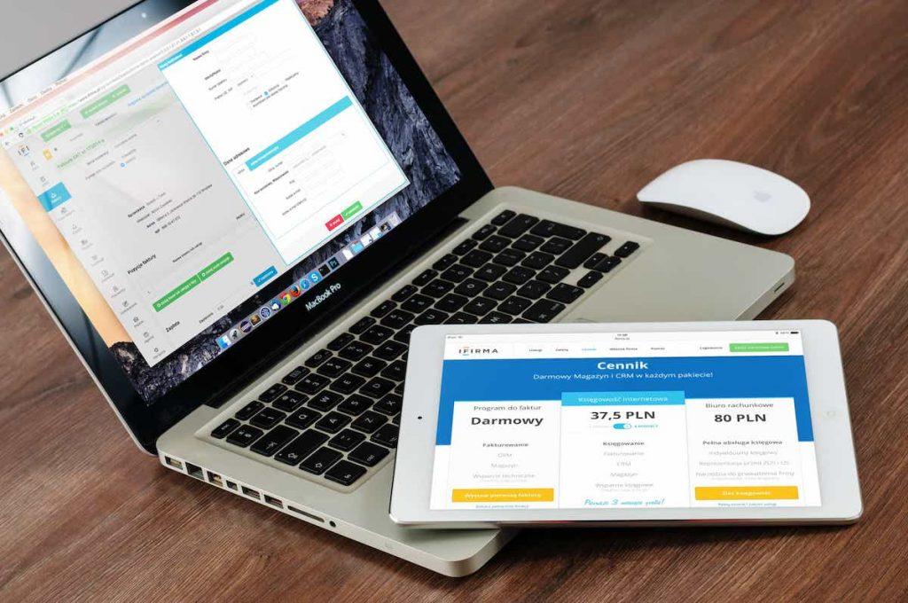 Ordinateur et tablette numérique